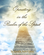 Book, Operating in the Spirit Realm by Apostle Jerry Upton, overseer of Honey Rock Victorious Church, Knoxville, Tennessee